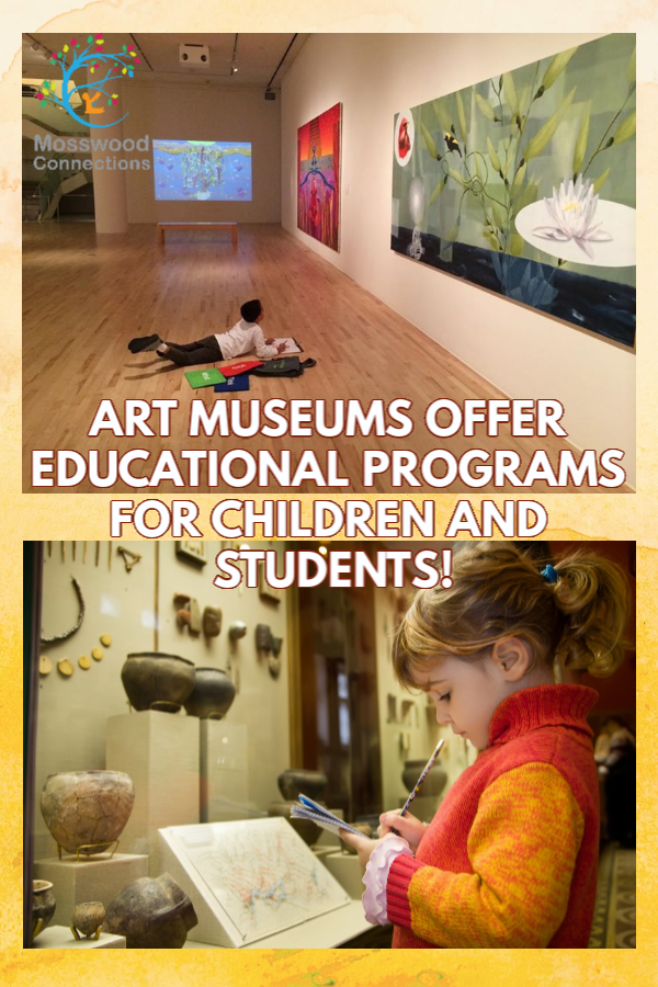 Museum Activities for Kids #mosswoodconnections #art #homschooling #education