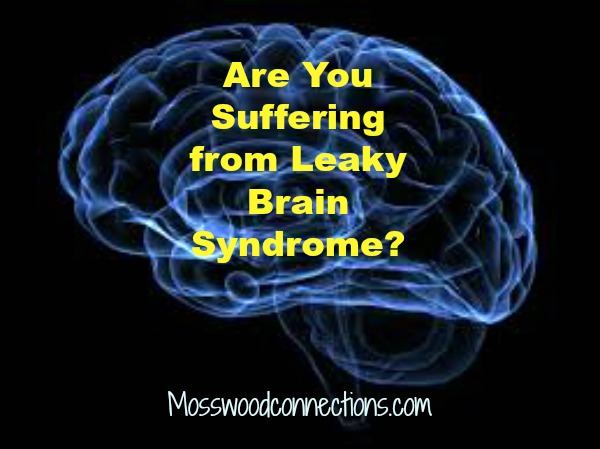 Are You Suffering from Leaky Brain Syndrome? #parentinghumor #mosswoodconnections