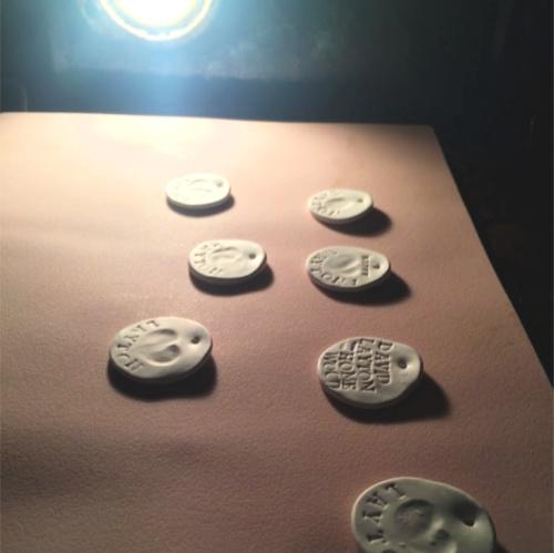 Baking the Fingerprint Charms