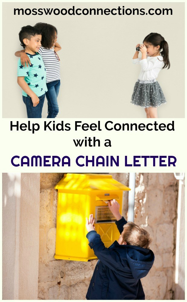 Camera Chain Letter: Social Skills and Letter Writing Activity #mosswoodconnections #socialskills
