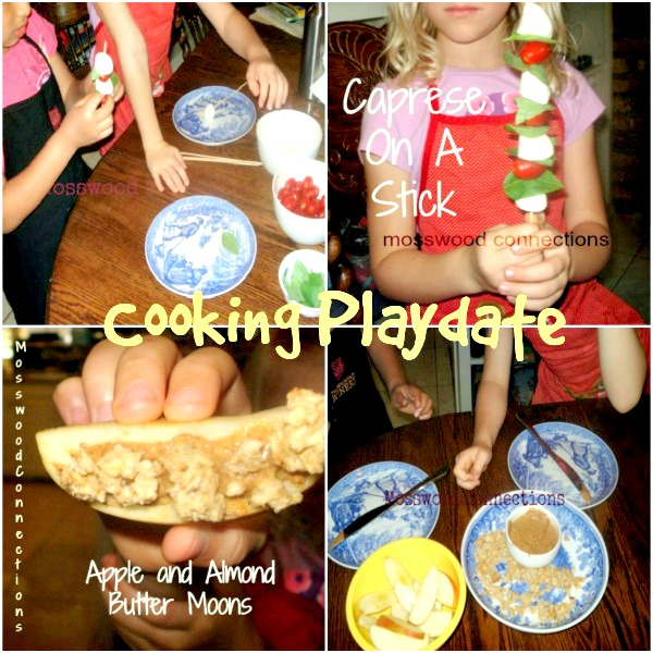 Cooking Play date #mosswoodconnections