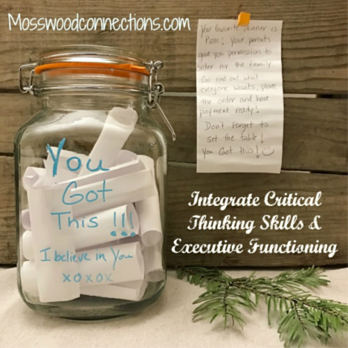 Critical Thinking Problems Jar #mosswoodconnections