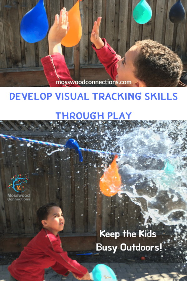 Therapy in Disguise: Develop Visual Tracking Skills Through Play #visiontherapy #trackingskills #gamesfortheeyes #mosswoodconnections