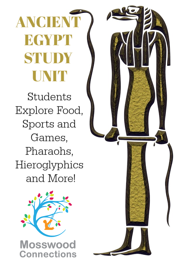 The Pharaohs Secret Teachers Resource Lessons and Activities - Bring History Alive Through Literature! #Intermediatereaders #historicalfiction #studyunit #mosswoodconnections #AncientEgypt #homeschooling #literacy