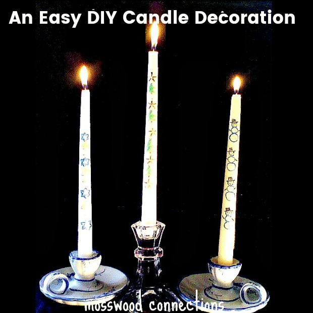 Easy DIY Candle Decoration