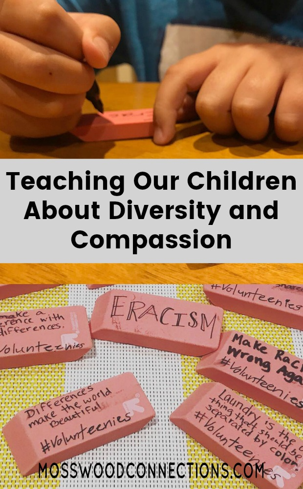 Eracism Teaching Our Children About Diversity and Compassion #kindness #diversity #mosswoodconnections #positiveparenting