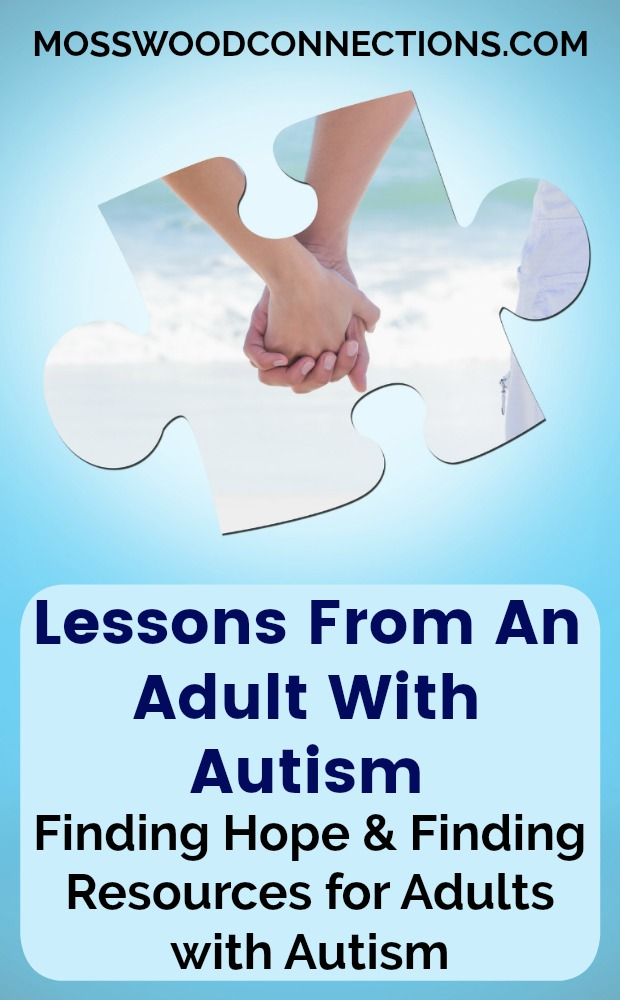 Fridays With The Blue Goddess; Lessons From An Adult With Autism; Finding Hope & Finding Resources for Adults with Autism. #mosswoodconnections #autism #thereishope #adultswithautism #specialneeds
