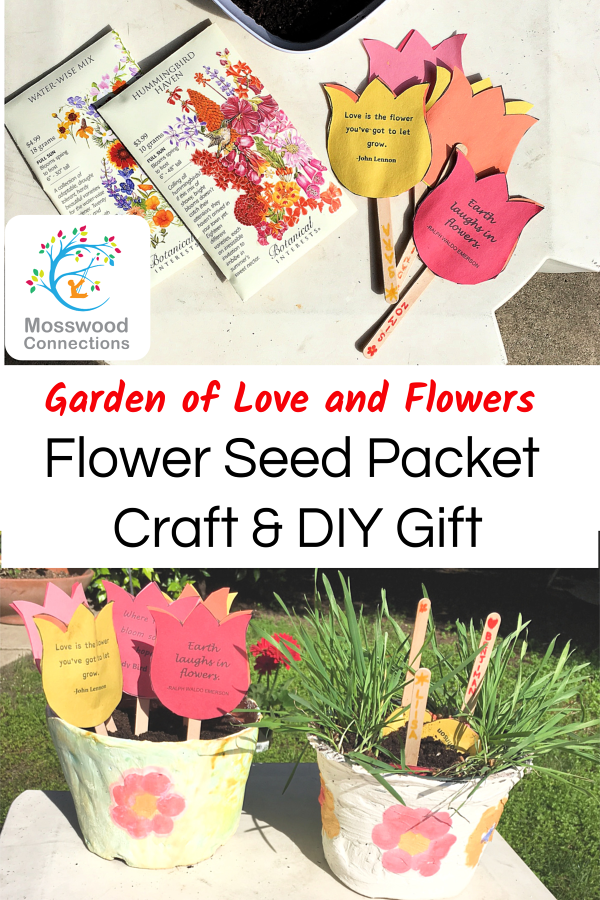 Make a flower seed packet craft and explore plant science!