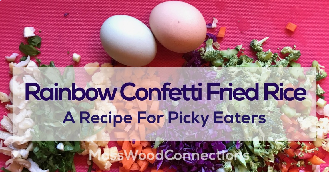 Rainbow Confetti Fried Rice: A Recipe for Picky Eaters