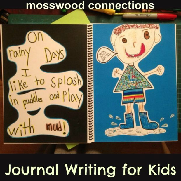 Journal Writing for Kids #education #homeschooling #writing #journalpages #mosswoodconnections