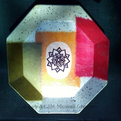 Korean Paper Mache Plate