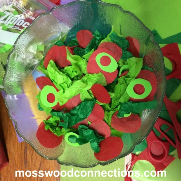Make-Me-a-Salad-Please-A-Simple-Fine-Motor-Activity #mosswoodconnections