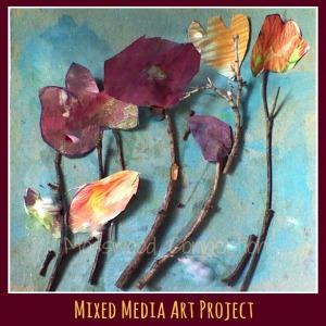 Mixed Media Art Project