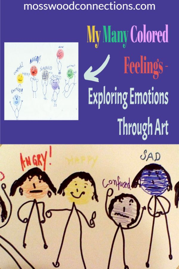 Children will love to explore their emotions with the My Many Colored Feelings social skills activity. #mosswoodconnections #autism #activelearning #socialskills #feelings