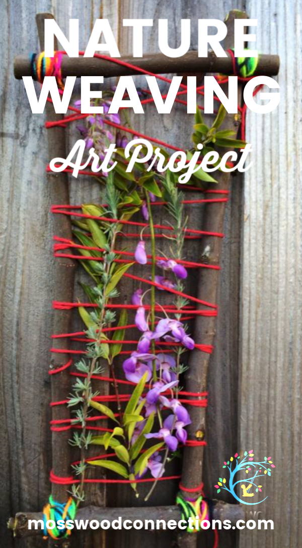nature weaving #natureart #weavingforkids #crafts #mosswoodconnections
