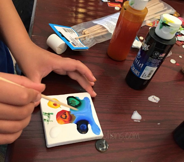 Nebula painting Instructions #mosswoodconnections