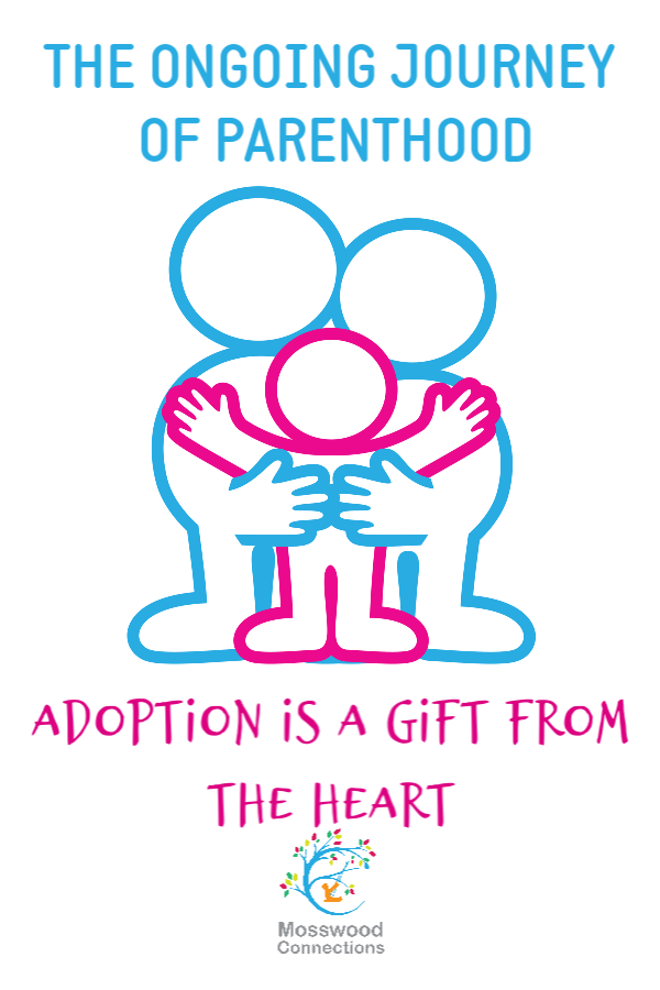 One Mom's Story of Open Adoption #parenting #adoption #mosswoodconnections