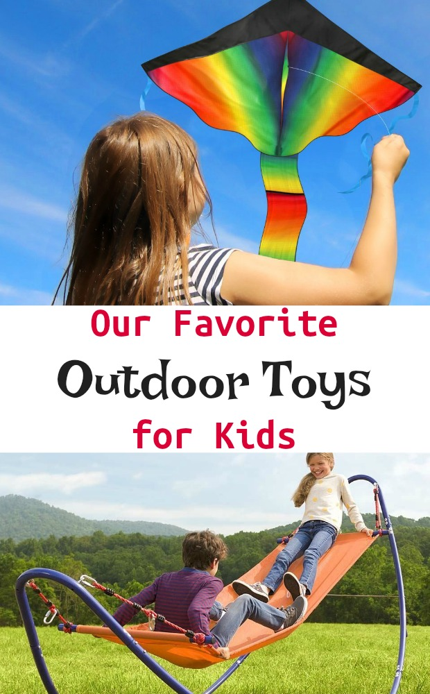 Our Favorite Outdoor Toys for Kids Therapist Approved Sensory Exercise #outdoortoys #giftguide #gooutsideandplay #grossmotor #parenting #mosswoodconnections
