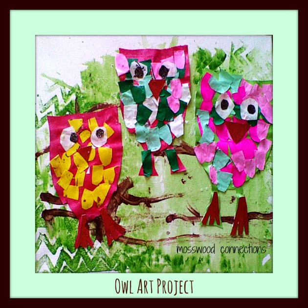Owl Art Project