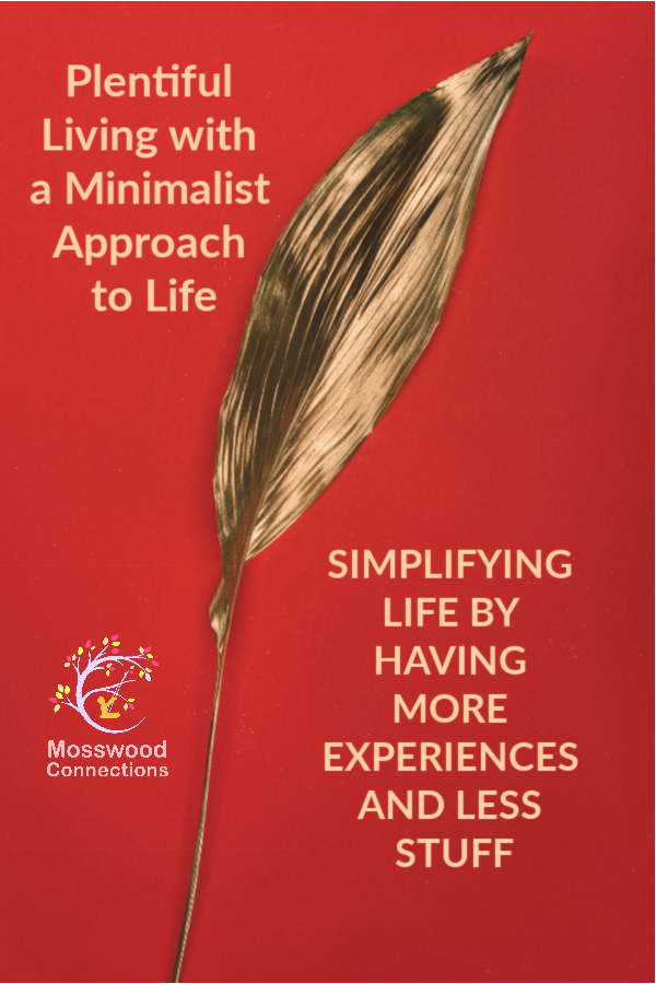 Plentiful Living with a Minimalist Approach to Life_ SIMPLIFYING LIFE BY HAVING MORE EXPERIENCES AND LESS STUFF #parenting #minimalism #mosswoodconnections