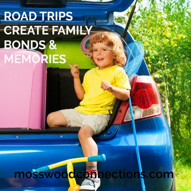 Road Trip Jealousy Road trips make lasting memories and bond us together. #mosswoodconnections #parenting