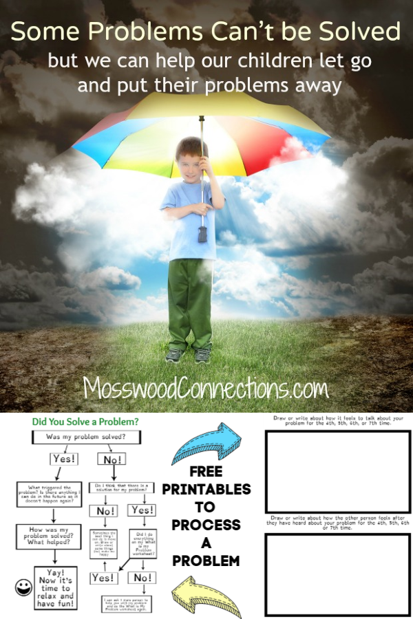 Problem-Solving Techniques Do Work. Positive parenting strategies to help children stop obsessing over problems #mosswoodconnections #positiveparenting #anxiouskids #problemsolving