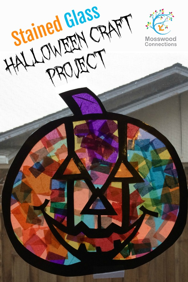 Easy Stained Glass Art Activity Mosswood