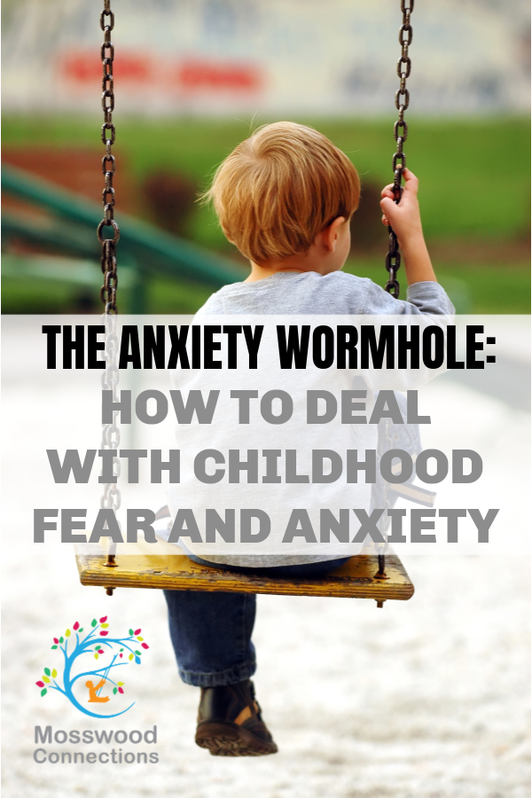 Anxiety Wormhole - helping childhood fear and anxiety #mosswoodconnections