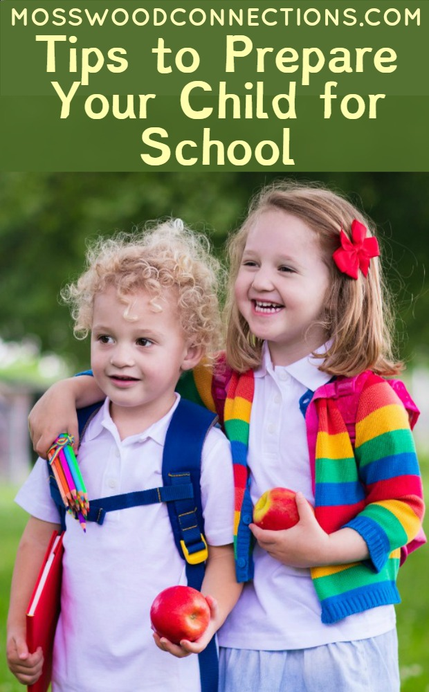 Tips on Ways to Help Prepare Your Child for School #parenting #backtoschool #specialneeds #mosswoodconnections