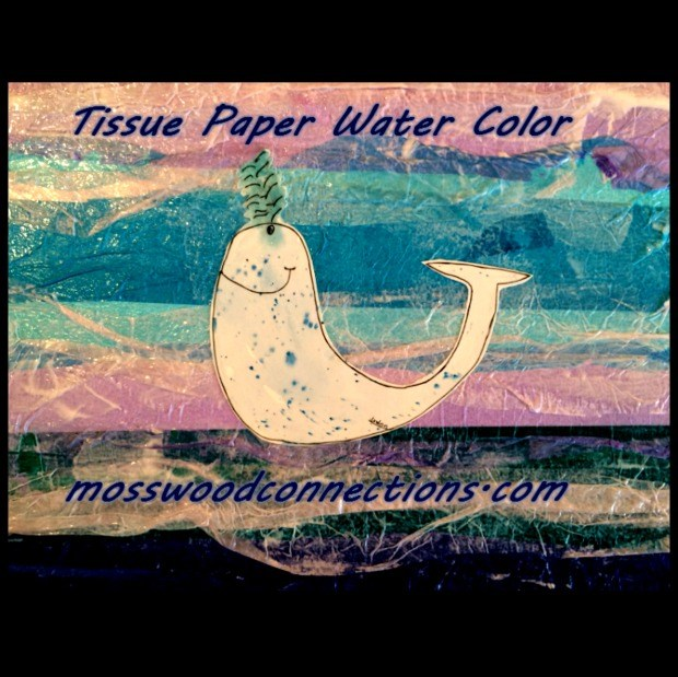 issue-Paper-Water-Color-Art-Project- #mosswoodconnections