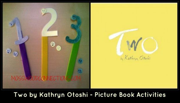 Two by Kathryn Otoshi – Picture Book Activities