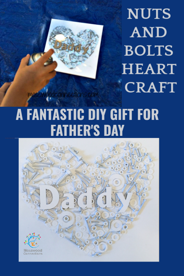 DIY Fathers Day Gift #mosswoodconnections #Fathersday #Upcycledcraft #Homemadegift