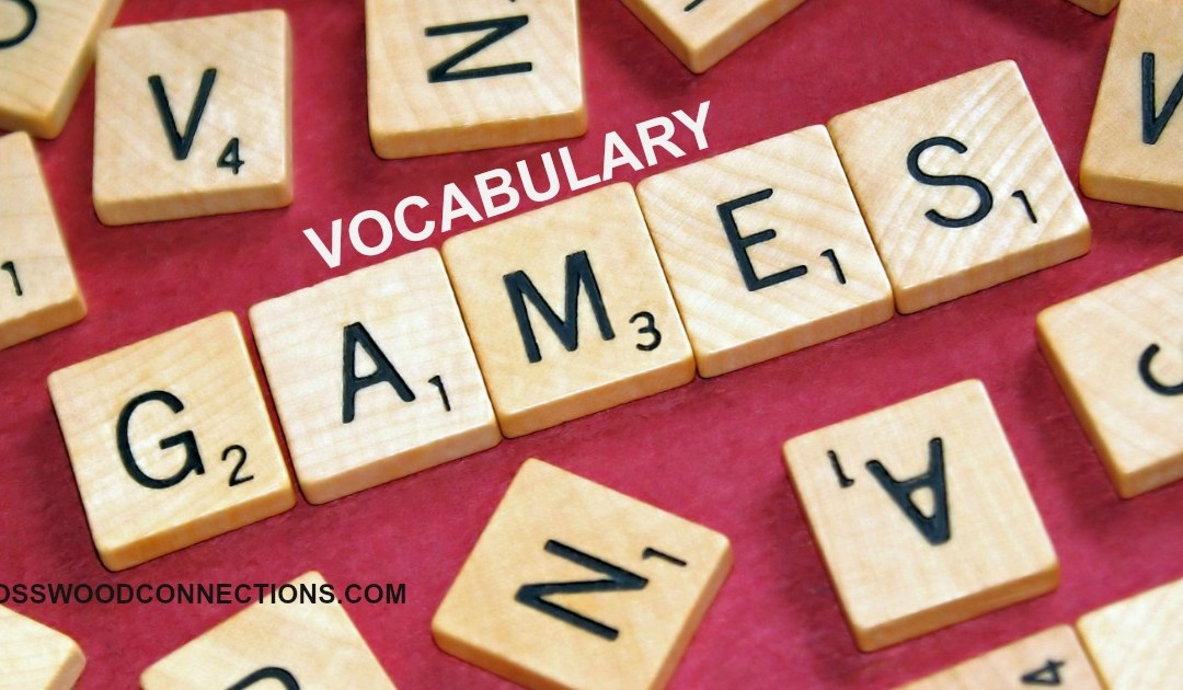 Vocabulary Games for Elementary Students #elementary #mosswoodconnections #homeschooling #education #vocabulary