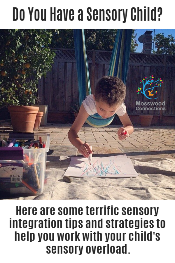 Sensory Integration Strategies and Tips #mosswoodconnections #sensory #autism #SPD