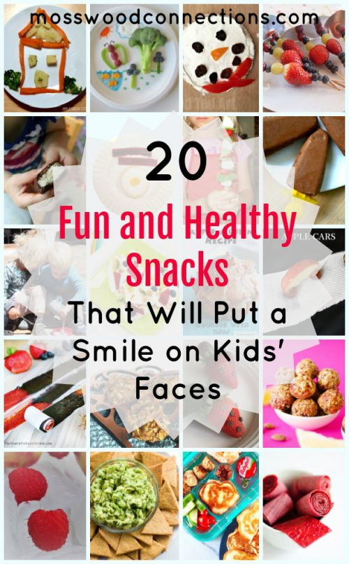20 Fun and Healthy Snacks That Will Put a Smile on Kids' Faces