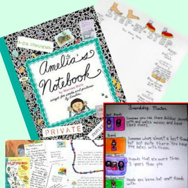 All About Amelia's Notebook! Review, Resources and Activities #youngreaders #mosswoodconnections #booklessons #homeschooling #literacy #reluctantreaders #Ameliasnotebook