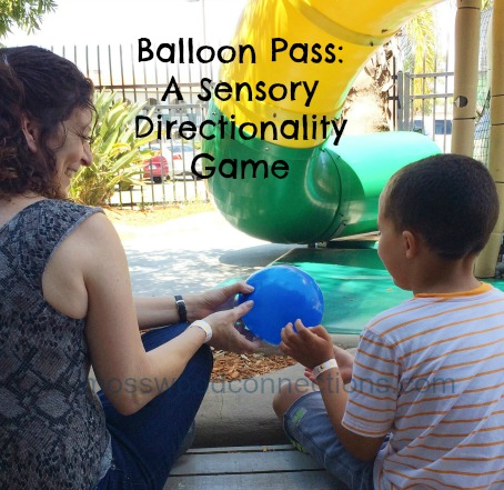 Fun Learning Games with Balloons! #mosswoodconnections #visiongames #socialskills #grossmotor #sensory