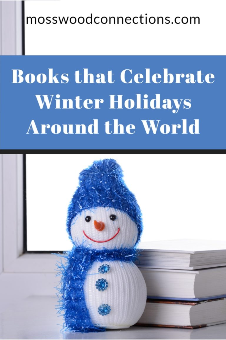 Picture Books that Celebrate Winter Holidays Around the World #mosswoodconnections #winterholidays #picturebooks #multicultural