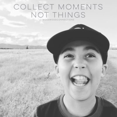 Collect Moments #mosswoodconneections