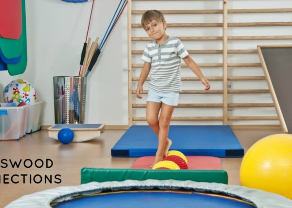 Crossing Midline is Important for Child Development #mosswoodconnections #grossmotor #sensory #childdevelopment #crossingmidline