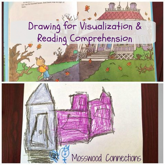 Drawing For Visualization & Reading Comprehension An early reading activity #mosswoodconnections #education #autism #homeschooling #reading