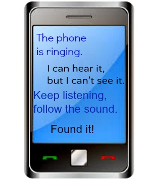 Find the Cell Phone: a Listening Game #mosswoodconnections #auditoryprocessing #activelearning #listeningskills