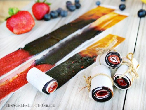 Easy Plum Fruit Roll ups Fun and Healthy Snacks for Kids