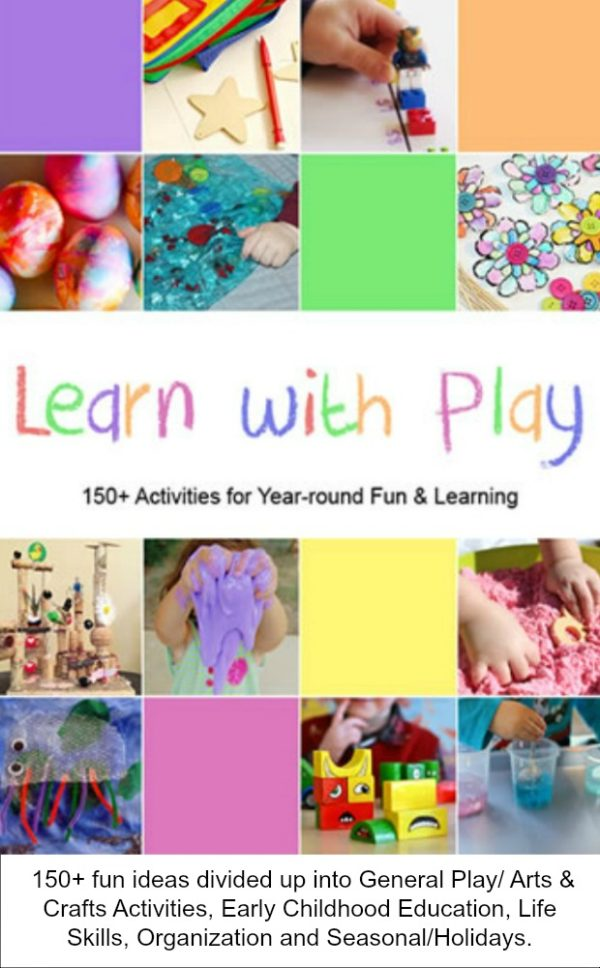 Learn with Play: 150+ Ideas for Year-round Fun & Learning. #homeschooling #mosswoodconnections #education