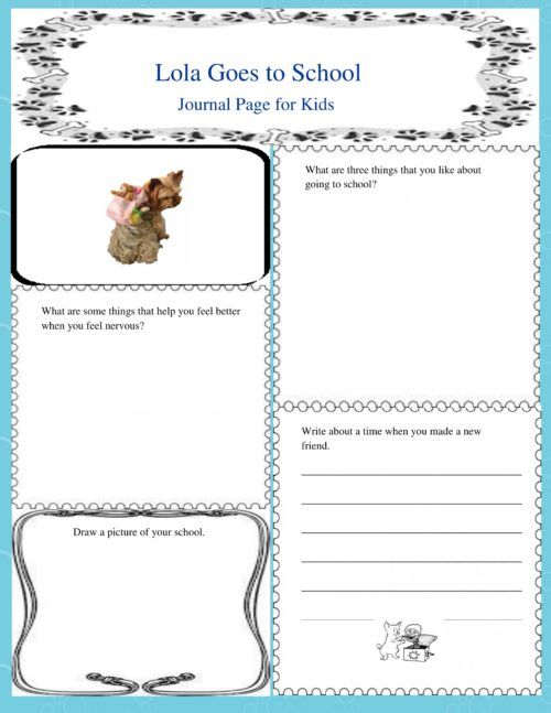 Journal Writing and Free Journal Pages for Kids #education #homeschooling #writing #journalpages #mosswoodconnections