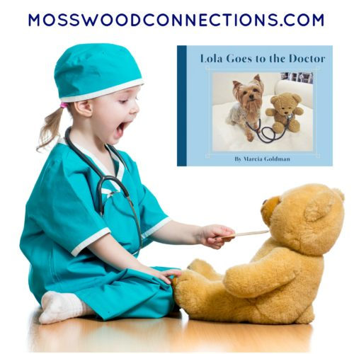 Lola Goes to the Doctor Picture Book Lessons and Activities #mosswoodconnections #picturebooks #bookextensionactivities #GoingtotheDoctor #LolatheTherapyDog
