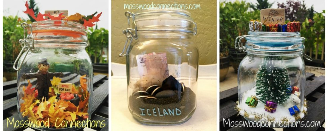Memory Capsules Mason Jar DIY Decor Craft #masonjarcrafts #holidays #mosswoodconnections #DIYkeepsake