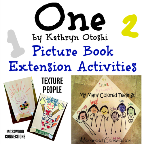 One by Kathryn Otoshi #picturebooks #mosswoodconnections #literacy
