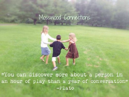 Why I Play for a Living; Learning Through Play Fosters Growth #mosswoodconnections #childdevelopment #autism #parenting