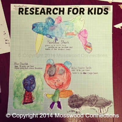 Research for Kids: Great Ideas for a Beginning Research Project #education #homeschooling #writing #research #mosswoodconnections